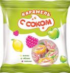 Карамель фруктово-ягодной начинкой 180 ГР