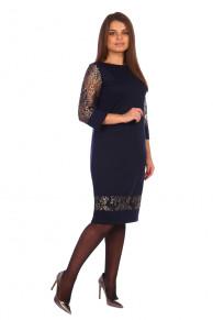 Платье Донсия (2379). Расцветка: синее