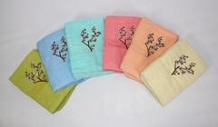 Полотенце махровое банное 9852004044 Цветы№2