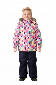 Комплект зимний: куртка и брюки TW37105 PINK