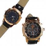 Часы мужские наручные P.P.GENEVA два циферблата