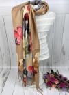 "Палантин ""Цветы"" 180x70"