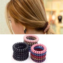 Набор 10 шт. Резинка-пружинка для волос, Ассорти Ø4см