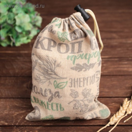 "Мешочек для зелени, ""Травы"", 16х22см"