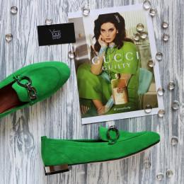 Туфли лоферы из эксклюзивного велюра. New collection 19