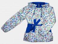 Куртка осенняя для девочек на флисе