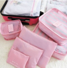 Набор 6 чехлов для поездок Secret Pouch Бледно-Розовый