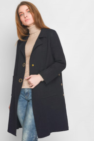 Вязаное пальто 31012