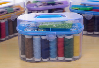 Швейный набор «Палитра» 12 цветов ниток
