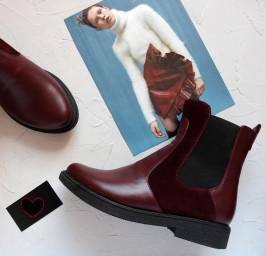 Кожаные ботинки Челси. New collection 17-18!