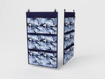 Кофр для аксессуаров, 7 карманов, 35х60см (