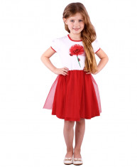 """""""Цветы"""" [294962]Платье для девочки ДПК406804"""