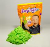 Кинетический пластилин Zephyr в дой-паке, зеленый, 300 гр