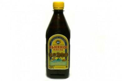 Льняное масло     0,5 л.