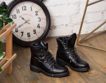Ботинки KING BOOTS женские  KB659SW Черный