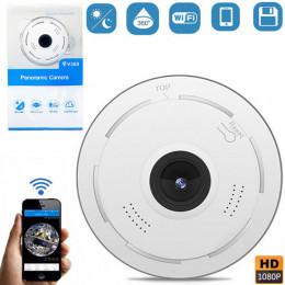 Панорамная камера видеонаблюдения с поддержкой Wi-Fi