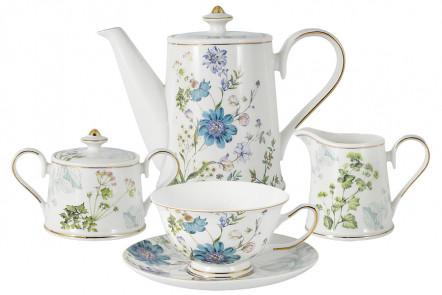Чайный сервиз Лазурь из 15 предметов в подарочной упаковке