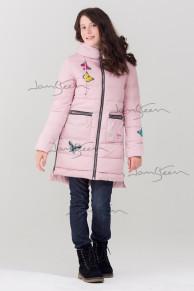 Пальто для девочек, био-пух