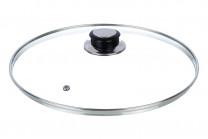 Крышка стеклянная 26*26*6,5 см (модель - KR26/1)