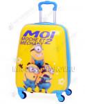 Детский чемодан «Миньоны» 18 дюймов