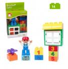 Конструктор Bricks sets (аналог Lego duplo) 14 деталей.