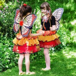 Girls 'Admiral Butterfly Fairy' 3 Piece Dress-Up Costume