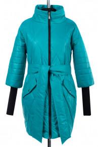 Куртка демисезонная (Синтепон 150) пояс Плащевка