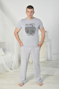 Мужская футболка Нью-Йорк фм-1