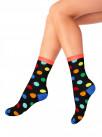 "Хлопковые женские носки с рисунком ""Горох"" (MADEMOISELLE)"