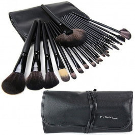 Набор кистей для макияжа 24 штуки в чехле