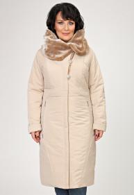 """Пальто """"Белинда"""" бежевое"""