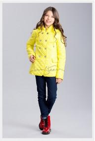 В наличии!Куртка. Цвет лимон. Р-р. 152.