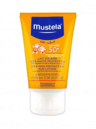 Солнцезащитное молочко  Мустела для лица и тела(100мл)