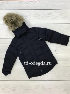 Куртка 6-700 синий (Код: 6-700с)