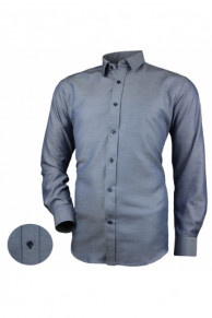 Рубашка Victorio Desire 072 classic серо-синий