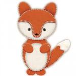 """Набор для создания игрушки из фетра """"Лисичка"""""""