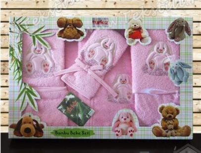 Бамбуковый Подарочный Набор 5 предметов (0-2 годика) Mavi Se
