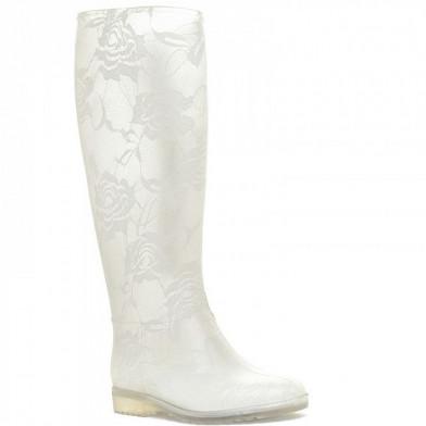 18575/102#01 бел Сапоги резиновые женские (36-40)