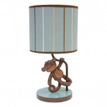 Lambs & Ivy Lamp with Shade and Bulb