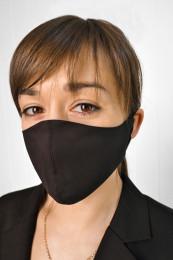 Декоративная маска черная