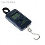 Весы-безмен электронные портативные LV-403, до 40 кг, чёрные