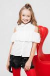 """Школьная блузка для девочки """"SH-52"""""""