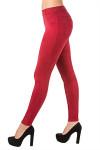 Леггинсы #LLR1603 (Красный)