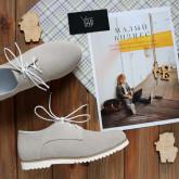 Замшевые стильные туфли. С 31 размера! New Collection 18