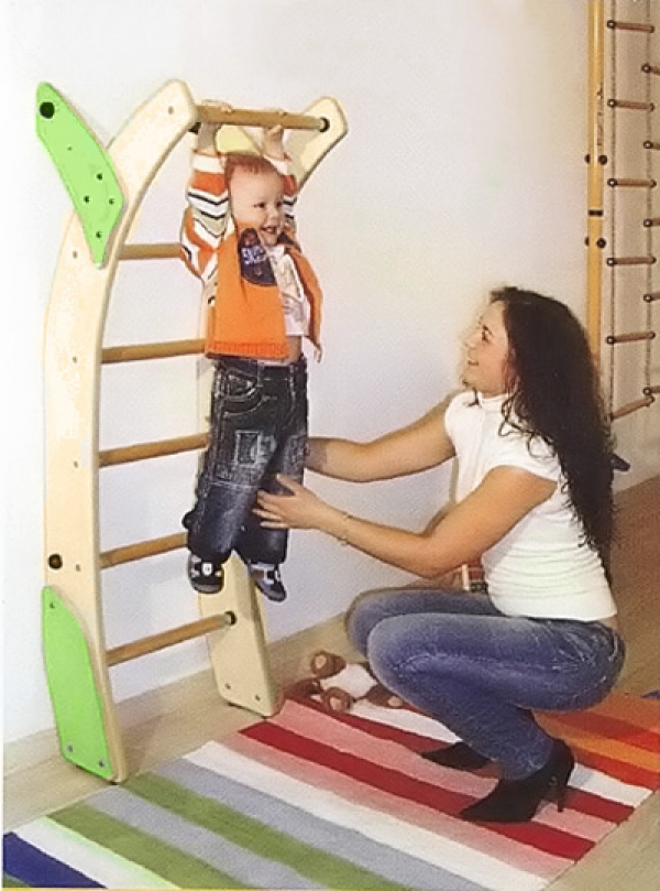 Шведская стенка для детей своими руками фото