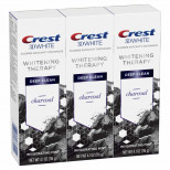 Crest Charcoal 3D White Toothpaste (3шт)