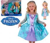 Jakks Pacific Нарядное платье для девочки + кукла Эльза