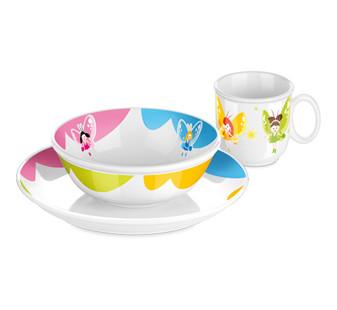 Набор посуды BAMBINI, феи, 3 шт.