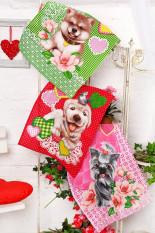 Набор полотенец Год собаки(упаковка 3 шт)