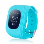 Детские часы GPS трекер Smart Baby Watch Q50, голубые